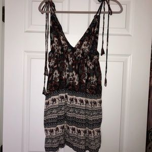 Boutique Tied Tank Sundress